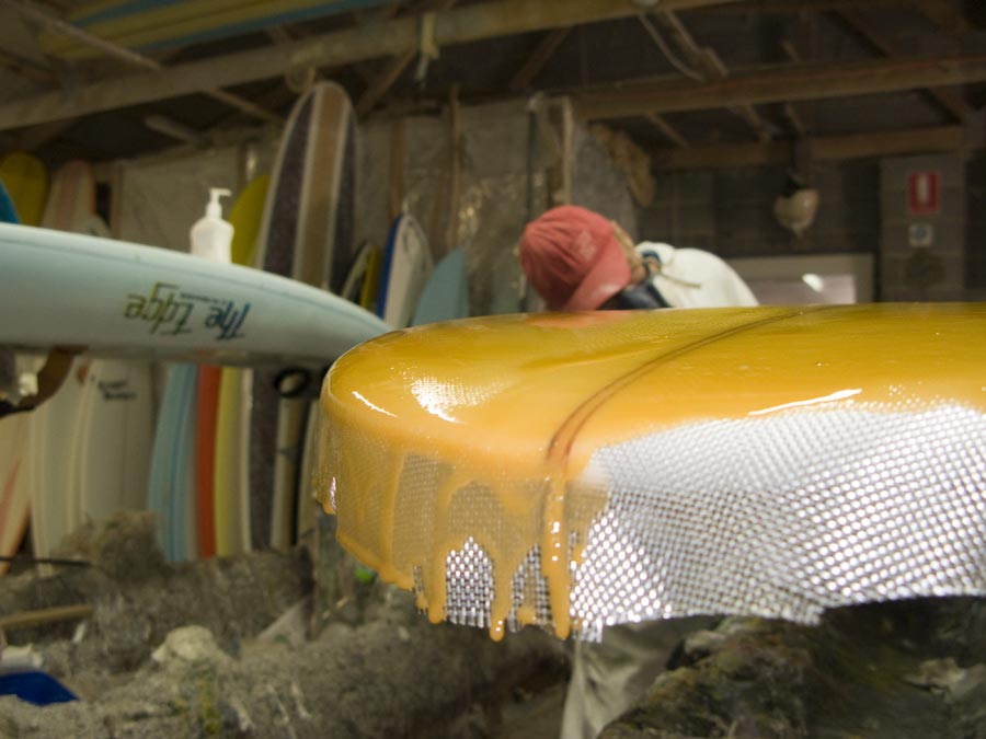 Trigger Bros Surfboards – The Making of a Custom 9ft Log