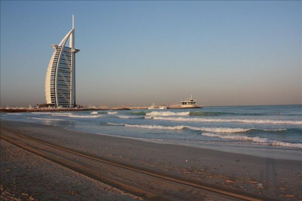 Sunset and The Burj Al Arab